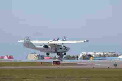 G-PBYA Canadian Vickers PBV-1A Canso Catalina takeoff