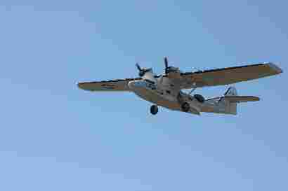 Catalina fly over