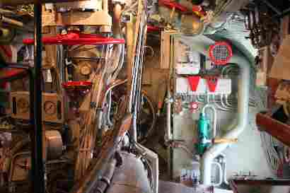 Inside U3 submarine