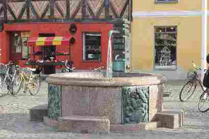 Fountain in Lilla torg