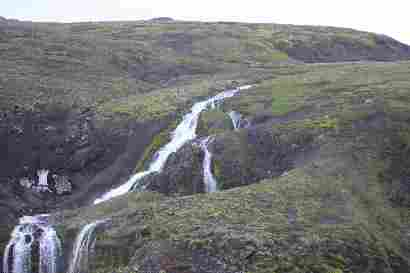 Waterfall from Hornfellsnípa