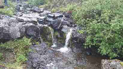 Waterfall from Selfjall Botnsdal