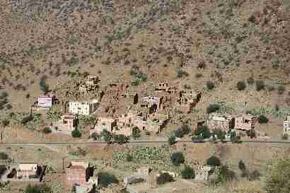 Houses in Tafraoute valley