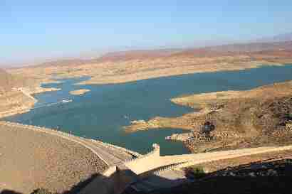 Moulay youssef dam in Ait adel