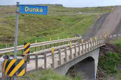 Bridge over Dunká