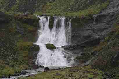 Waterfall in Þvergilsá