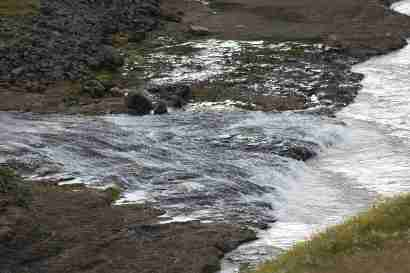 Hölkná flows into Jökulsá on Brú