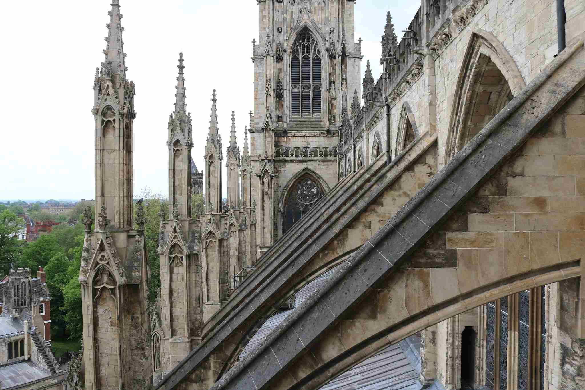 Towers of York minster