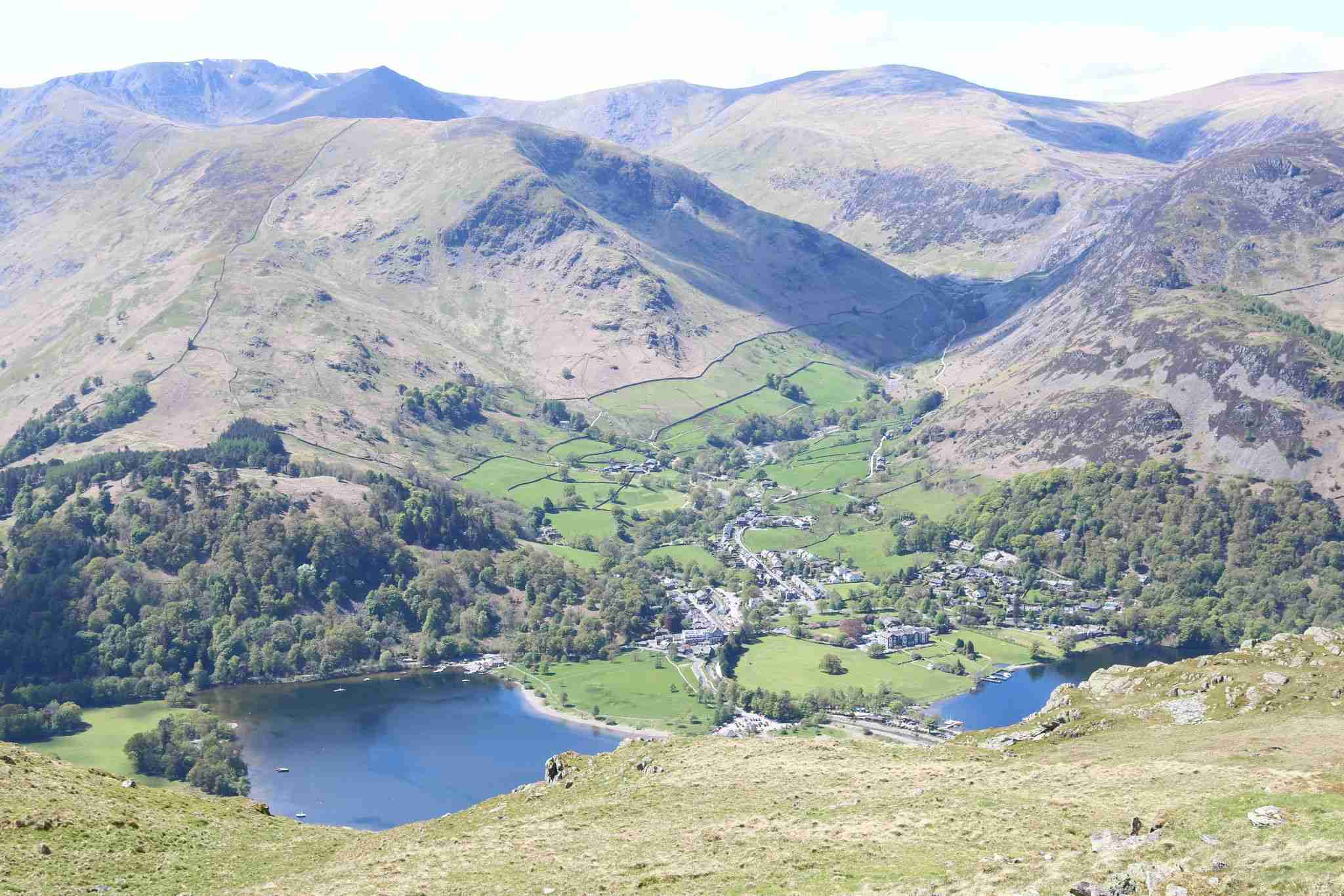 Patterdale from Place fell