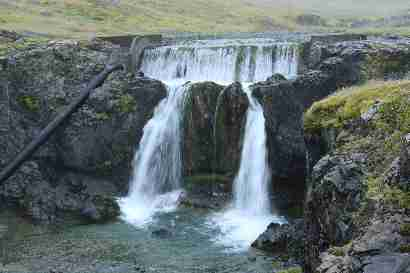 Waterfall 1 in Þorgeirsstaðaá