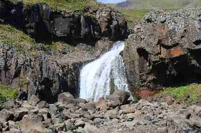Waterfall in Þverá