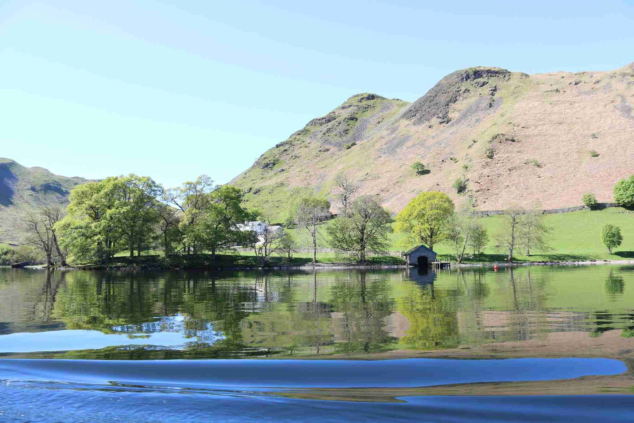 Ullswater and Place fell
