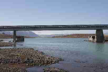 Bridge over Hvítá
