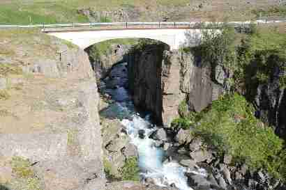 Bridge over Þverá efri