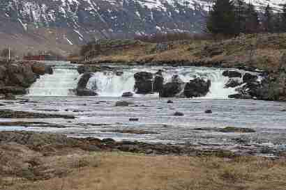 Laxfoss in Laxá in Kjós